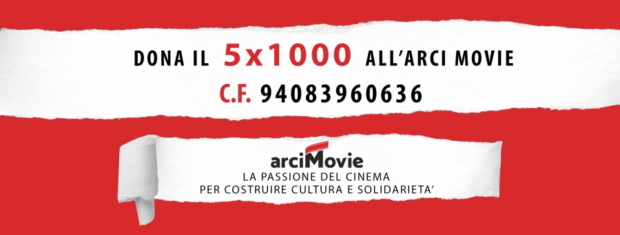 Dona il tuo 5 per mille ad Arci Movie