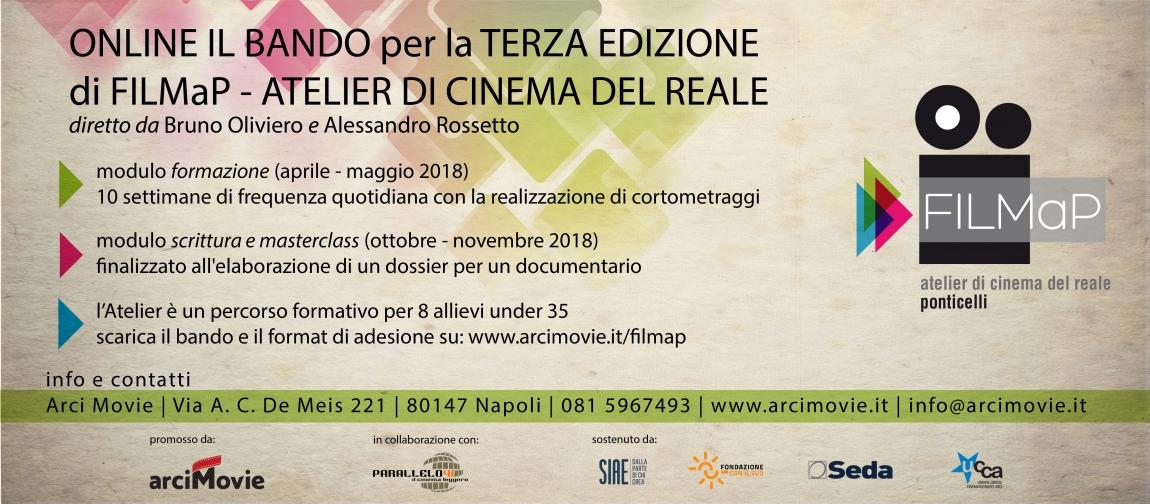 Arci Movie - FILMaP - Atelier di Cinema del Reale - Online il Bando