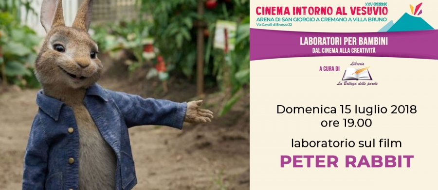 Laboratorio sul film PETER RABBIT all'Arena di San Giorgio a Cremano